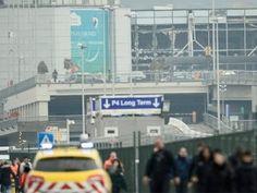 VIDEO: Momento preciso de las explosiones en Bruselas Belgica