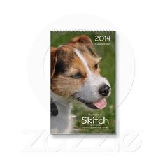 My Name is Skitch 2014 Dog Calendar Design from Calendars by Janz