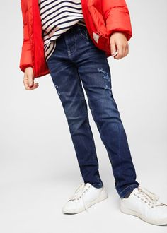 Latest trends in jeans for boys aged 3 to Discover our slim-fit, straight-cut and faded jeans. Kids Usa, Kids Boys, Faded Jeans, Mango Fashion, Boys Jeans, Fashion Online, Latest Trends, Cool Outfits, Slim