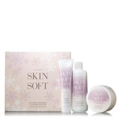 Avon Skin So Soft Winter Vanilla Collection - Buy Avon Gift Sets for Christmas 2017 Best Skincare For Men, Avon Skin So Soft, Pigment Eyeshadow, Avon Online, Feet Care, Hand Cream, Body Butter, Shower Gel, Body Wash