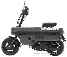 Honda AB12 Motocompo (1981)