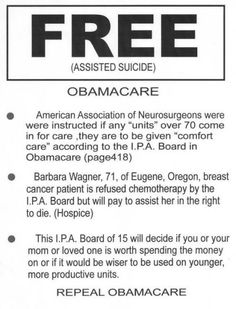 YES There ARE Death Panels #repealobamacare #Tcot pic.twitter.com/dxJpfjiIVk