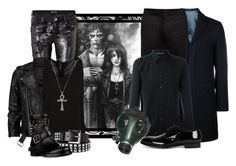 """""""Contest: Peas in a Pod/DC: Sandman Comics"""" by darksyngr ❤ liked on Polyvore featuring Marciano, VIPARO, MANGO, Xhilaration, Valentino, Ted Baker, Maison Margiela, Alexander McQueen, Dolce&Gabbana and GAS Jeans"""