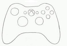 xbox one controller template by thewolfbunny printable transfers