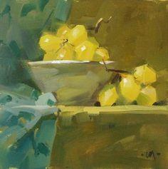 "Daily Paintworks - ""Beside Myself"" - Original Fine Art for Sale - © Carol Marine"