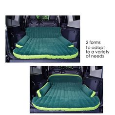 Amazon.com : Heavy Duty Inflatable Car Mattress Bed for SUV Minivan Back Seat Extended Mattress : Sports & Outdoors
