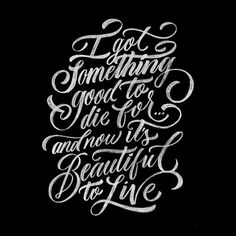 """""""Tattoo sketch for my friend @alidaaamn #tattoo #lettering #sketch #typography #type #calligraphy"""""""