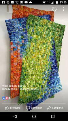 Best 12 Dino Maccini – Page 389561436517461825 Mosaic Pots, Mosaic Wall Art, Tile Art, Mosaic Glass, Glass Art, Stained Glass, Mosaic Crafts, Mosaic Projects, Mosaic Ideas