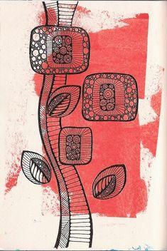 Цветочные и растительные мотивы в зен_арте. Обсуждение на LiveInternet - Российский Сервис Онлайн-Дневников