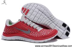 Cheap Discount Nike Free 3.0 V4 511457-600 Gym Red Sail Reflect Silver Mens Casual shoes Shop