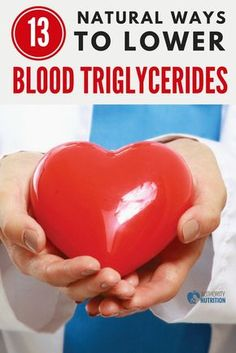 Having too many triglycerides in your blood can be harmful and lead to heart disease. Here are 13 natural ways to lower your triglycerides: https://authoritynutrition.com/13-ways-to-lower-triglycerides/