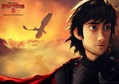 AHHHH! Wait is this him in the 3 httyd!! I wonder whats with the scar on his eye... this is interesting....