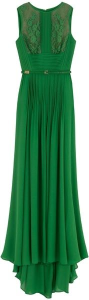 Green - beautiful dress!!