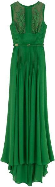 Green - beautiful dress!!