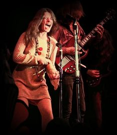 'Combination Of The Two' - Big Brother & The Holding Company on stage at the Monterey Pop Festival, 1967.