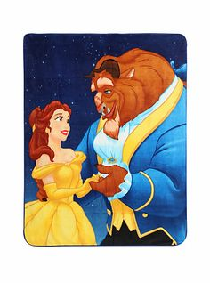 Daily Disney Finds: Hot Topic Beauty and the Beast blanket