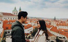 For unforgettable moments, Prague Palace Garden, Terrace Garden, Garden Entrance, Prague Castle, Italian Style, New York Skyline, Places To Visit, In This Moment, Landscape
