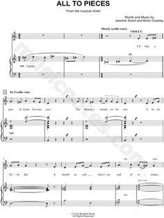 free broadway sheet music pdf