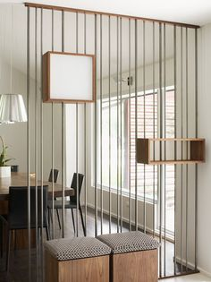 Metal Rod | Industrial Accents | Home Decor | Room Dividers | Partitions