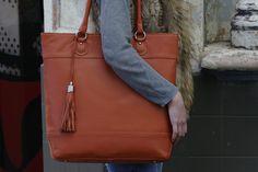 My Best Friend is a Bag #Burnt #Orange #Shopper