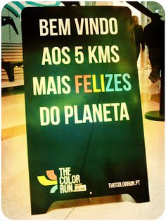 :) Welcome to 5 km happier planet :) The Color Run :) Matosinhos, Porto, Portugal <3
