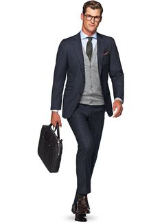 Face it, every man is different. With our guide, you'll be sure to find the fit and style that suits you, in three easy steps. Mens Fashion Suits, Mens Suits, Male Fashion, Suit Supply, Best Sneakers, Gentleman Style, Business Fashion, Suits You, Blue Stripes