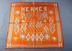 Love-Bags : Hermes kelly en perles silk twill scarf hand rolle...