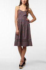 Urban. Cooperative Cotton Picnic Midi Dress