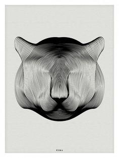 Animals in Moiré / Andrea Minini   AA13 – blog – Inspiration – Design –…