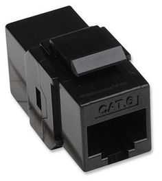 Intellinet, RJ45 Female to Female UTP CAT.6 Keystone Coupler, Black by Intellinet. $4.89