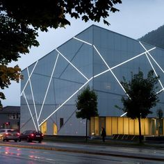 Sogn & Fjordane Kunstmuseum  by C.F. Møller Architects