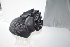Glamour vintage 80s fascinator gothic style black by VezaVe, $45.00