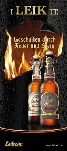 Leikeim - Fire by Daniel Edelmeier, via Behance