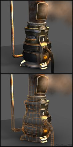Futuristic Furnace by ~beere on deviantART