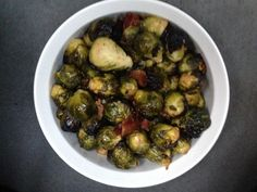 For our annual Thanksgiving potluck this year, I volunteered to contribute a non-exciting side dish of brussels sprouts and I was determined to use sous vide to try to create something spectacular. Short version: this recipe is damn tasty and very easy. Long version: read the recipe, make it, and le
