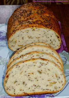 Mama i Pomocnicy: Chleb pszenny z ziarnami idealny