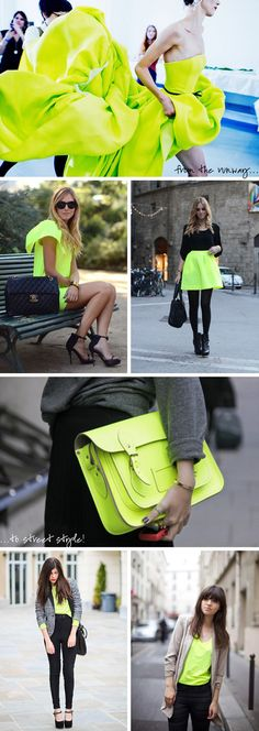 touches of neon