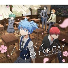 Assassination Classroom / Ansatsu Kyoushitsu (暗殺教室) Season 2 - Opening 2 - Bye Bye Yesterday