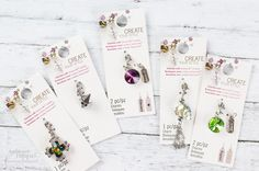 Head over to your local Michaels Stores  to pick up Charms Made with Swarovski Crystals! With plenty of unique charms to choose from, you will be sure to brighten your loved ones Holiday with a personalized gift.  #cousindiy #michaelsstores #swarovski #diy #diyproject #design #gift #create #diygift #holidaygift