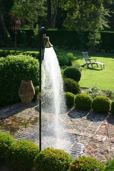 buitendouche-tuin outdoor shower