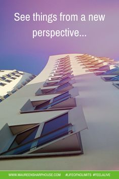 See things from a new perspective!!