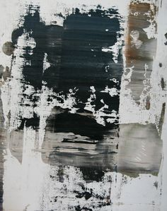 Koen Lybaert - abstract N° 859 - oil on paper [47 x 37] / 2014 - [price 340 euro, shipment include]