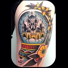 snow ball tattoo *got to show this to carrie