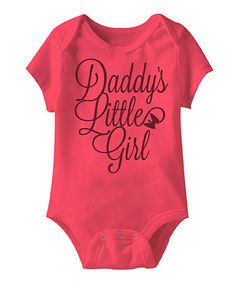 4c1d3ee37e8 Hot Pink  Daddy s Little Girl  Bodysuit - Infant Our Baby