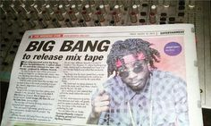 """Yardhype features """"Big Bang"""" aka Young Wild Apache... New mix tape & Video on the way - http://www.yardhype.com/yardhype-features-big-bang/"""