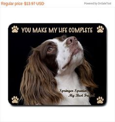 English SPRINGER SPANIEL Dog Puppy Lovers by DogLoversCollections