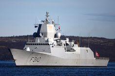 Norwegian frigate HNoMS Fridtjof Nansen (F310). Royal Norwegian Navy Photo