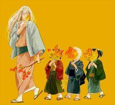 Gintama, Joy4, Gintoki, Takasugi Shinsuke, Katsura Kotarou, Shouyou-sensei