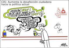 Desafección ciudadana hacia política Viñeta: Forges - 18 AGO 2014 | Opinión | EL PAÍS