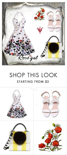 """""""Rosegal"""" by wanesa-s ❤ liked on Polyvore featuring Les Petits Joueurs and vintage"""